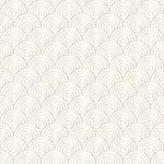 art deco circle pattern